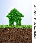 environmentally friendly living ... | Shutterstock . vector #370951649