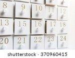 advent calendar | Shutterstock . vector #370960415