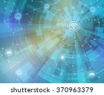 internet of things  wireless... | Shutterstock .eps vector #370963379