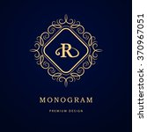 monogram design elements