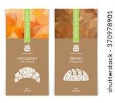 vector set of templates... | Shutterstock .eps vector #370978901