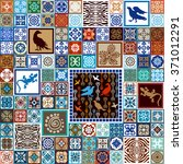 Mega Set Of Ceramic Tiles With...