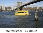 Nyc Water Taxi Drives Under The ...
