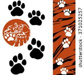 Tiger   Paw Print . Animal...
