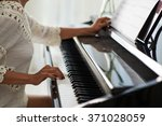 Woman Performing Piano Piece O...