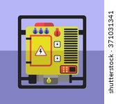 flat generator vector...