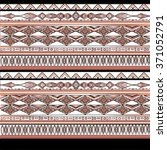 ethnic pattern design | Shutterstock . vector #371052791