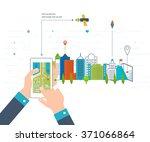 vector illustration concept of  ...   Shutterstock .eps vector #371066864