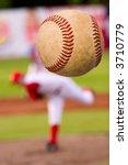 a baseball player pitching ...   Shutterstock . vector #3710779