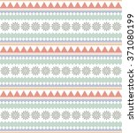 ethnic seamless pattern. tribal ... | Shutterstock .eps vector #371080199