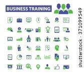 business training  webinar ... | Shutterstock .eps vector #371099549