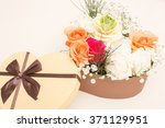 beautiful design of flowers.... | Shutterstock . vector #371129951