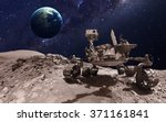 mars rover. elements of this... | Shutterstock . vector #371161841