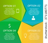 infographics template. process...   Shutterstock .eps vector #371180771
