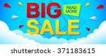 big sale and special offer... | Shutterstock .eps vector #371183615