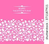 illustrations of valentines day ...   Shutterstock . vector #371187911