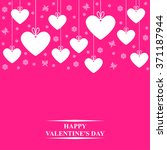 illustrations of valentines day ... | Shutterstock . vector #371187944