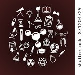 science line icons set | Shutterstock .eps vector #371204729