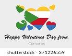 a valentines flag illustration...   Shutterstock .eps vector #371226559