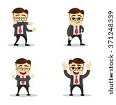 set of manager character in... | Shutterstock .eps vector #371248339