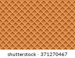 waffles seamless vector pattern.... | Shutterstock .eps vector #371270467