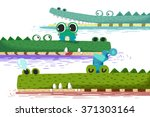 creative illustration and... | Shutterstock . vector #371303164