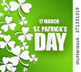 st. patrick's day background... | Shutterstock .eps vector #371331319