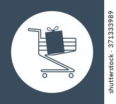 put in shopping cart icon ... | Shutterstock .eps vector #371333989