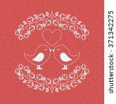 love card design  | Shutterstock .eps vector #371342275