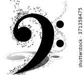 musical design elements from... | Shutterstock .eps vector #371358475