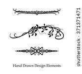 vector design element ...   Shutterstock .eps vector #371371471
