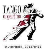 Hand Made Sketch Of Tango...