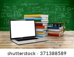 3d e learning  education concept | Shutterstock . vector #371388589