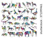 Big Animal Set  Jerboa  Giraff...