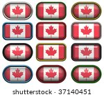 twelve buttons of the the flag... | Shutterstock . vector #37140451
