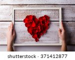 Stock photo love composition studio shot 371412877