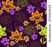 seamless pattern with colorful... | Shutterstock .eps vector #371414419