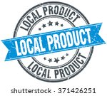 local product blue round grunge ... | Shutterstock .eps vector #371426251