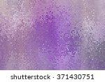 Bright Abstract Mosaic Violet...