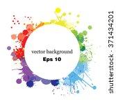 paint splashes splatters... | Shutterstock .eps vector #371434201