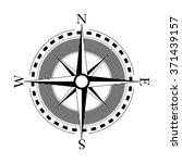 compass navigation dial  ... | Shutterstock .eps vector #371439157
