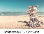 bavaro  dominican republic  ... | Shutterstock . vector #371440345