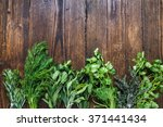 aromatic herbs and spices from... | Shutterstock . vector #371441434