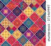 seamless pattern. vintage... | Shutterstock .eps vector #371469997