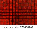 bright abstract mosaic red... | Shutterstock . vector #371480761