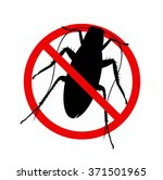 the vector of kill cockroach... | Shutterstock .eps vector #371501965