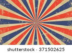 vintage grunge red and blue... | Shutterstock .eps vector #371502625