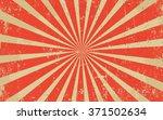 vintage grunge red radial lines ...   Shutterstock .eps vector #371502634