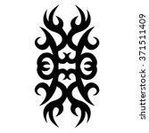 tattoo tribal vector designs.... | Shutterstock .eps vector #371511409