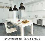 3d rendering of a modern...   Shutterstock . vector #371517571
